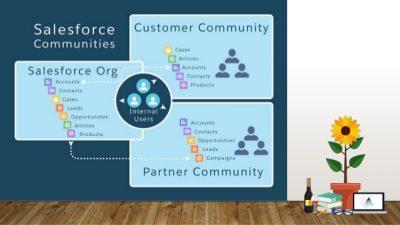 Possibilities of communities in Salesforce