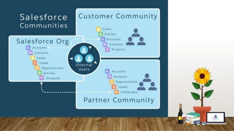 Possibilities of communities in Salesforce